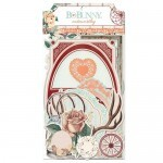 Apliques Chipboard - Bella Rosa Collection - Bo Bunny