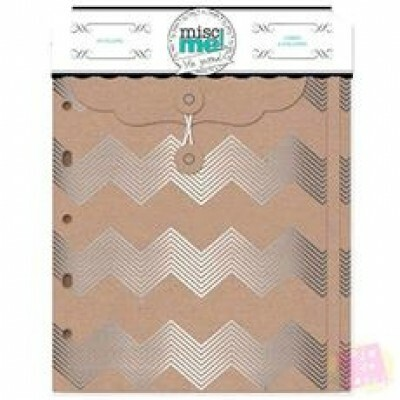 Envelopes  - Misc Me - Silver and Kraft