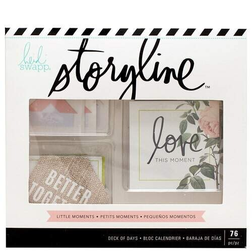 Adesivo e Cards - Storyline Collection -  Heidi Swapp  - 70 itens