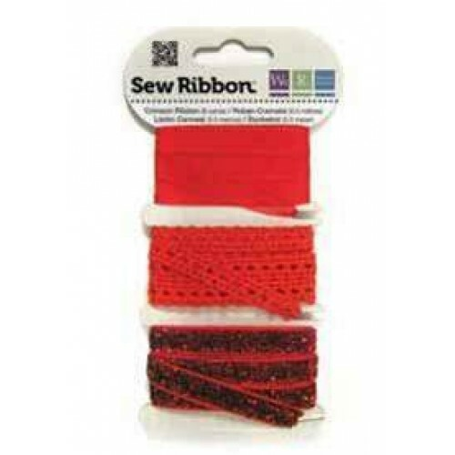 Kit de Fitas - Sew Ribbon - We R Memory Keepers