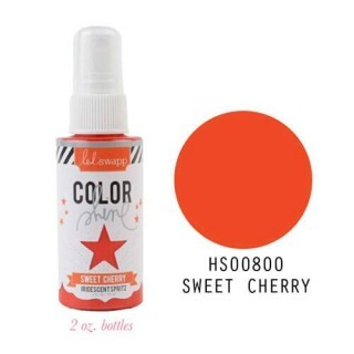 Tinta Spray Color Shine Iridescent Spritz - Heidi Swapp - Sweet Cherry