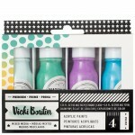 Tinta Acrílica - All The Good Things Collection - American Crafts -  Set 2 - 4 Peças