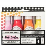 Tinta Acrílica - All The Good Things Collection - American Crafts -  Set 1 - 4 Peças
