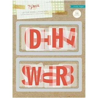 Letras Decorativas -The Pier - Crate Paper