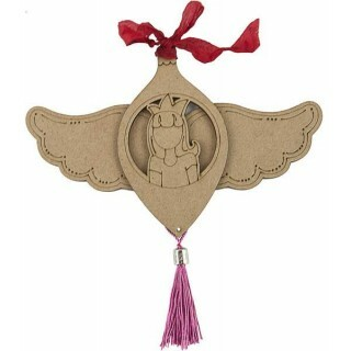 Ornamento de MDF - Natal - Julie Nutting - Prima - Joy