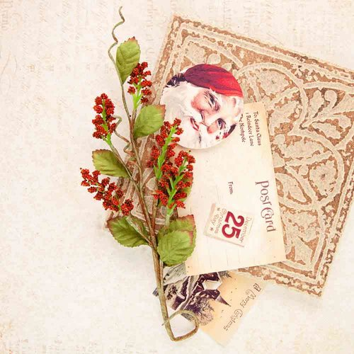 Flores Plastico - A Victorian Christmas Collection - Prima