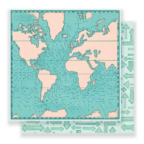 Papel Here There - Tour Guide 30,5x30,5