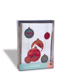 Kit Cartões de Natal - EK Success - Ornament Cards