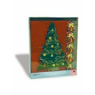 Kit Cartões de Natal - EK Success - Tree Cards