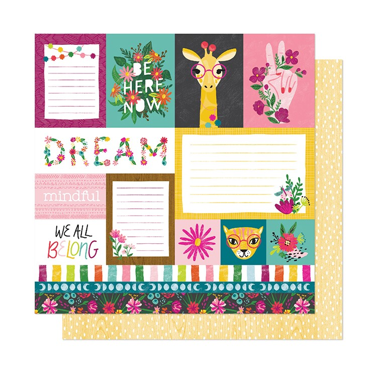 Papel Dreamer - New Day Collection 30,5x30,5