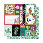 Papel Kind Heart - New Day Collection 30,5x30,5