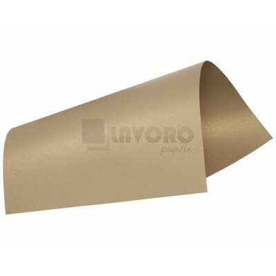 Papel Curious Metallics - Gold Leaf 250g A3 - 04 Folhas
