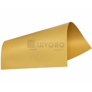 Papel Curious Metallics - Super Gold 300g A4 - 09 Folhas