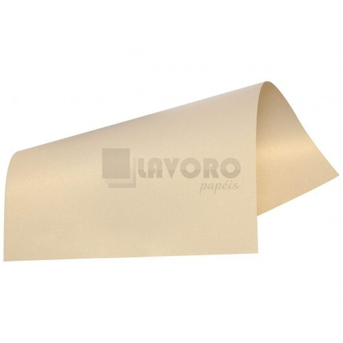 Papel Curious Metallics - Virtual Pearl 250g A3 - 04 Folhas