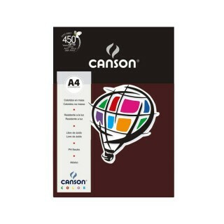 Papel Canson Color - Granate A4 180g (10 folhas)