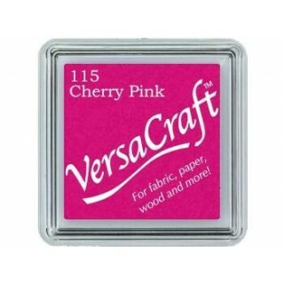 Mini Carimbeira - VersaCraft - Cherry Pink