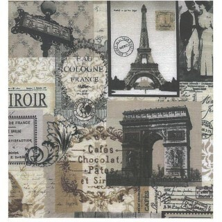 Papel Vintage 6 - Art Unica - 30,5x30,5