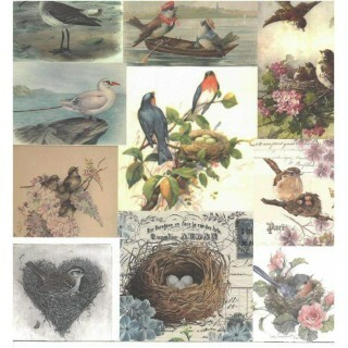 Papel Vintage 3 - Art Unica - 30,5x30,5