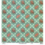 Papel Florais 5 - Art Unica - 30,5x30,5
