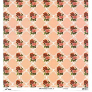 Papel Florais 3 - Art Unica - 30,5x30,5