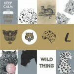 Papel Whild Thing - Art Unica - 30,5x30,5