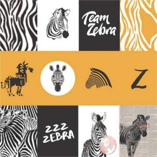 Papel Zebra - Art Unica - 30,5x30,5