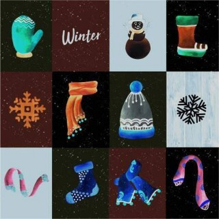 Papel Winter is Here - Art Unica - 30,5x30,5