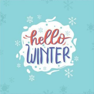 Papel Hello Winter - Art Unica - 30,5x30,5