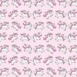 Papel Unicornland Pink - Art Unica - 30,5x30,5