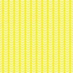 Papel Botânica Yellow - Art Unica - 30,5x30,5