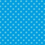 Papel Flor Azul - Art Unica - 30,5x30,5