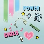 Papel Girl Power - Art Unica - 30,5x30,5