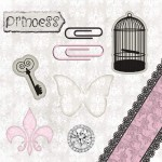 Papel Princesa - Art Unica - 30,5x30,5