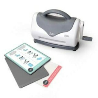 Máquina Sizzix Texture Boutique Embossing Machine