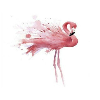 Plaquinha MDF - Flamingo - 20X20 cm - Art Unica