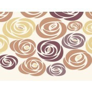 Plaquinha MDF - Flores Color - 20X20 cm - Art Unica