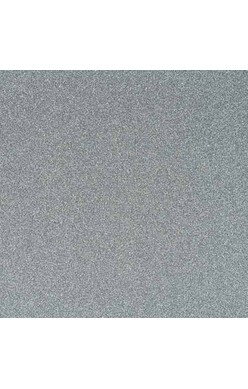 Papel Pow Glitter - American Crafts - Silver