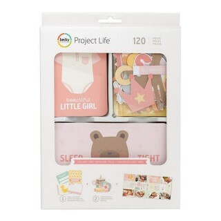 Kit Project Life - Lullaby Girl c/ 120 unidades