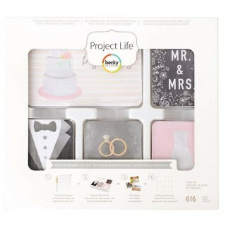 Kit Project Life - Marriage c/ 616 unidades