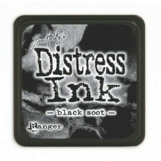 Mini Carimbeira - Distress Ink - Black Soot