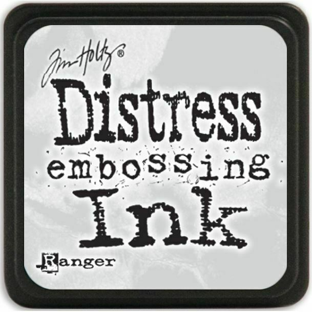 Mini Carimbeira - Distress Ink - Clear