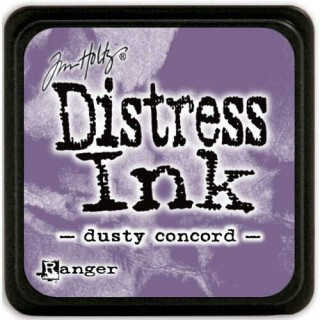 Mini Carimbeira - Distress Ink - Dusty Concord
