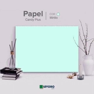 Papel Candy Plus - Mirtilo - 180g A4 - 27 Folhas