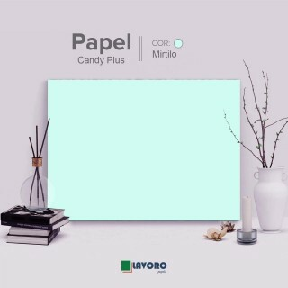 Papel Candy Plus 180g 30,5x30,5 - Mirtilo - 30 Folhas