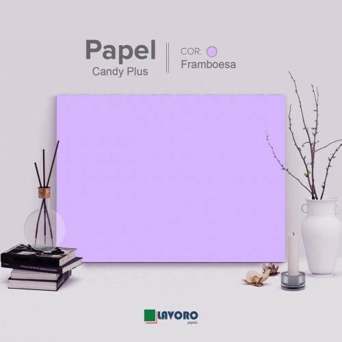 Papel Candy Plus 180g A3 - Framboesa - 28 Folhas
