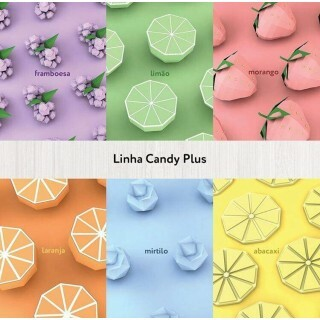 Papel Candy Plus - Framboesa - 180g 30x60 - 21 Folhas