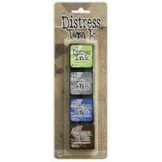 Kit 4 Mini Carimbeira - Distress Ink - Nº14
