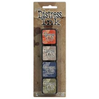 Kit 4 Mini Carimbeira - Distress Ink - Nº5