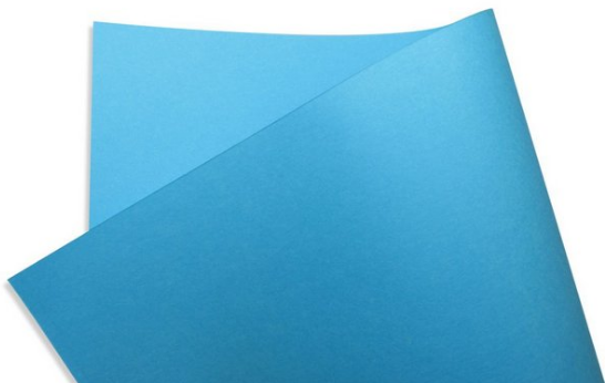 Papel Color Fluo 180g A4 - Blue - 27 Folhas