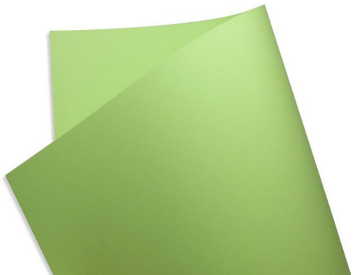 Papel Color Fluo - Green - 180g A4 - 27 Folhas
